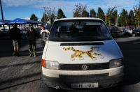 Our car, the Tiger!