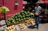 Seller of watermelons, Elbasan