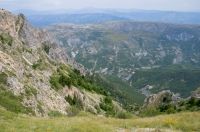 Mountains in the southern Albania