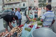 Selling of vegetables, Berat
