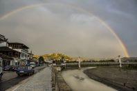Rainbow over Berat