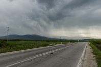 Storm, southern Serbia