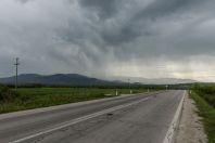 Bouře, jižní Srbsko