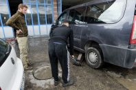 Brakes repair, Bardhosh