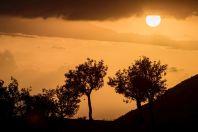 Západ slunce, Qazim Pali