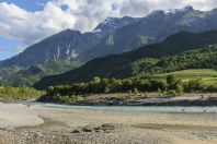 Údolí řeky Vjosa