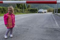 Little girl, Vermosh - Guci border