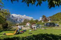 Camp, Theth