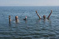 Bathing, Lake Sevan