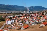 Městečko Gacko u hranice s Černou Horou
