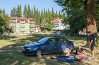Camp in Star Dojran village