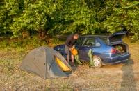 Camp near Dojran lake