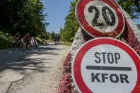 KFOR near Deçan
