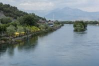 Buna river near Shkodër