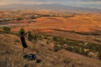 Damyanica hill -  v pozadí Melnik