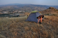 Morning on Damyanica hill