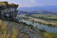 Udolí řeky Struma s Kožuchem