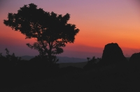 Západ slunce nad Starou Planinou