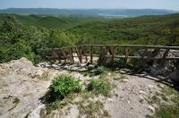Pohled z vrcholu Thrácké svatyně