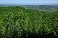 Pohled do údolí řeky Marice