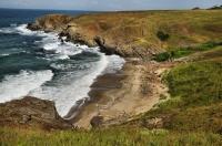 Black Sea coast near Sinemorets