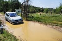 Hard terrain near turkish border