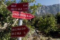 Hiking trail, Drvenik