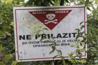 Mines, Croatian-Bosnian border