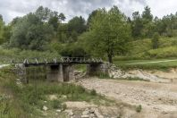 The bridge, Korana, Smoljanac