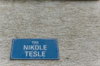 Nikola Tesla, Donji Lapac
