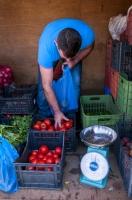 Sale of vegetables, Asopos