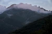 Mani peninsula mountains