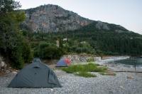 Camp near Neo Proastio