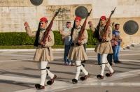 Evzones, Athens