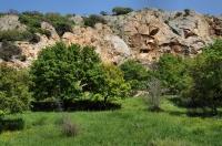 Lokality východně od Alexandropolis