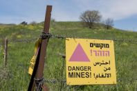 Minefields, Golan
