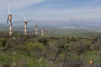 Golan Heights Wind Farm, Mount Bnei Rasan