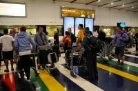 Na letišti v JHB - Afrika