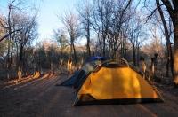 Camp in Mokolodi Nature Reserve - Botswana