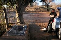 Camp in Mokolodi Nature Reserve
