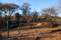 Camp in Mokolodi Nature Reserve