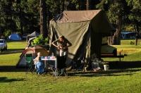 Royal Natal NP - camp