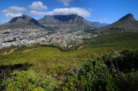 Devil´s Peak, Table Mt. a Lions Head from Signal Hill