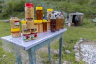 Sale of honey, Chychkan