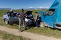Problem with the car, Toktogul
