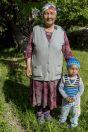 Women with child, Kyrgyzkorgon