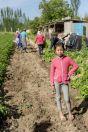 Small girl, Kyrgyzkorgon