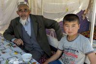 Old man and kid, Burgondu