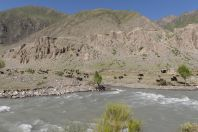 Gulcha River, on the road between Osh and Sary-Tash