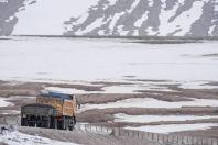Between Sary-Tash and China border